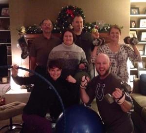 Original 25 in 25 Group - Steve Rader, Kevin Rader-Rhodenbaugh, Stacey Kirklin, Gloria Rader, Coach Marcey, Todd Rader