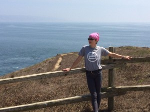 I decided to rock my Shoeboxed t and skinny jeans for our hike. Who needs wicking? Ha!