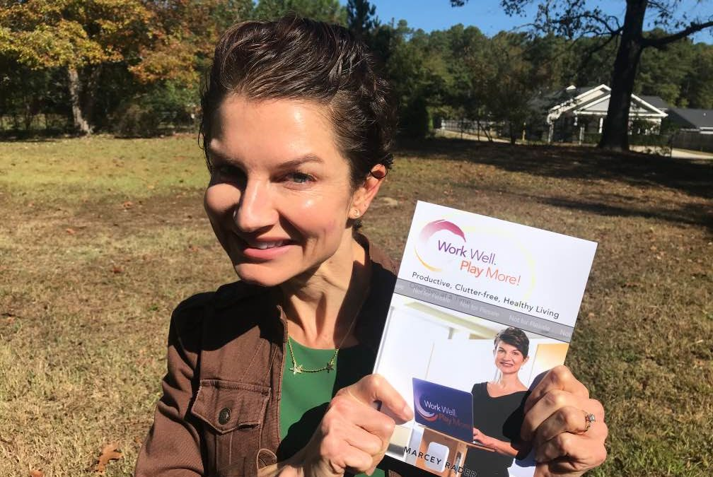 Productivity and Health Expert, Marcey Rader, Publishes New Book
