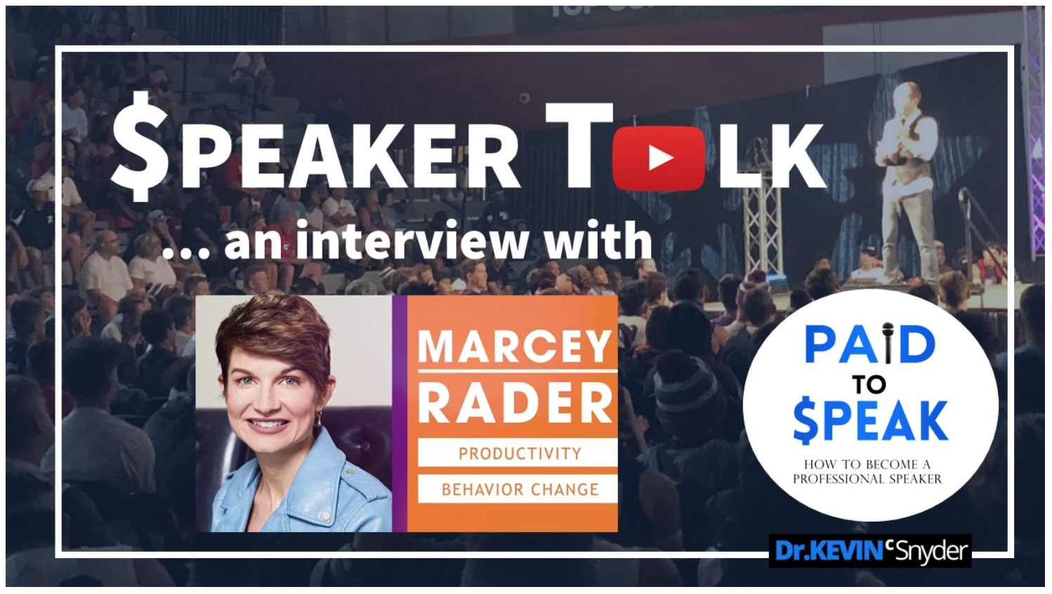 """$peaker Talk"" interview with Marcey Rader 